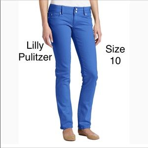 Lilly Pulitzer worth straight jeans 10
